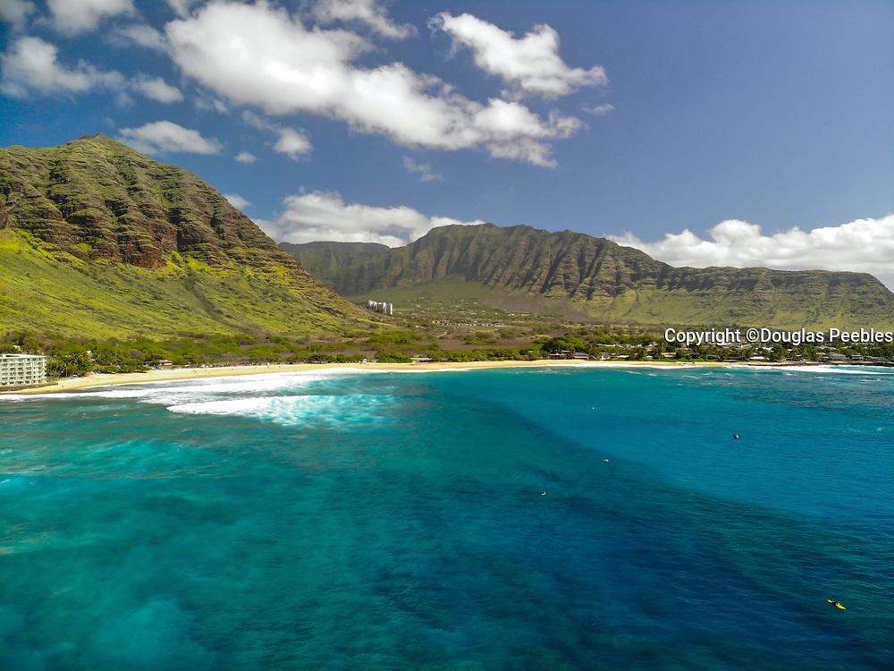 Makaha Beach, Waianae, Leeward, Oahu, Hawaii, USA