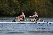 Crew: 10 - Roope / Frost - Emanuel School Boat Club - Op Junior 2x <br /> <br /> Pairs Head 2020