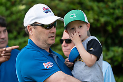 General images during the Chick-fil-A Peach Bowl Challenge Closest to the Pin Skills Competition at the Ritz Carlton Reynolds, Lake Oconee, on Monday, April 29, 2019, in Greensboro, GA. (Paul Abell via Abell Images for Chick-fil-A Peach Bowl Challenge)