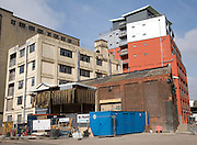 Conversion of old factory into apartments, Wet Dock, Ipswich, Suffolk, England