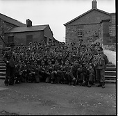 1961 - The 35th Battalion prepare to leave for the Congo on a peacekeeping mission with the UN