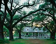 Oakland Plantation, built in 1821, Cane River Creole National Historical Park, Natchez, Louisiana.