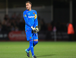 Adrian of West Ham United - Mandatory by-line: Paul Roberts/JMP - 23/08/2017 - FOOTBALL - LCI Rail Stadium - Cheltenham, England - Cheltenham Town v West Ham United - Carabao Cup
