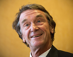 © Licensed to London News Pictures . 08/09/2015 . Salford , UK . Founder and CEO of Ineos , JIM RATCLIFFE at the Lowry Hotel in Salford . Photo credit : Joel Goodman/LNP