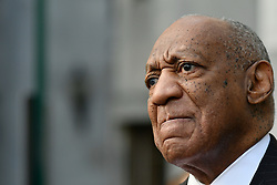 Actor and comedian Bill Cosby arrives at the Montgomery County Courthouse in Norristown, PA, on April 10, 2018. (Photo by Bastiaan Slabbers)