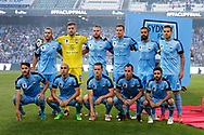 SYDNEY, NSW- NOVEMBER 21: Sydney FC team photo at the FFA Cup Final Soccer between Sydney FC and Adelaide United on November 21, 2017 at Allianz Stadium, Sydney. (Photo by Steven Markham/Icon Sportswire)