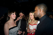 NATALIE CASSIDY, DUNCAN JAMES, BETH CORDINGLEY AND ROGER DAVIES , INTO THE HOODS - a hip hop dance musical -opening  at the Novello Theatre on The Aldwych. After- party at TAMARAI at 167 Drury Lane, London. 27 March 2008.   *** Local Caption *** -DO NOT ARCHIVE-© Copyright Photograph by Dafydd Jones. 248 Clapham Rd. London SW9 0PZ. Tel 0207 820 0771. www.dafjones.com.