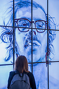 Big Self Portrait by Chuck Close - From Selfie to Self-Expression at the Saatchi Gallery. The exhibition looks at the history of the Selfie from portrait artists though to modern day selfies and features self-portraits by Rembrandt, Van Gogh, Lucian Freud, Cindy Sherman, Tracey Emin, through to modern day selfies from Kim Kardashian, Hillary Clinton, Ryan Gosling, Trump and others. In addition part of the exhibition includes an international selfie competition; over 14,000 selfies have been submitted to the competition and will be exhibited at the gallery alongside other art works. The show is sponsored by Huawei and runs from 31st March – 30th May 2017.