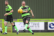 Forest Green Legends Marc McGregor during the Trevor Horsley Memorial Match held at the New Lawn, Forest Green, United Kingdom on 19 May 2019.