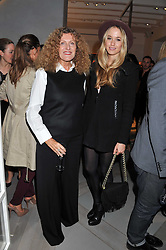 Left to right, NICOLE FARHI and FLORENCE BRUDENELL-BRUCE at a party to celebrate the opening of the new Nicole Farhi global flagship store at 25 Conduit Street, London W1 on 19th September 2011.