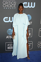 24th Annual Critics' Choice Awards. 13 Jan 2019 Pictured: Kirby Howell-Baptiste. Photo credit: Jaxon / MEGA TheMegaAgency.com +1 888 505 6342