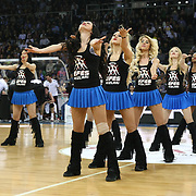 Anadolu Efes's show girls during their Euroleague Top 16 game11 basketball match Anadolu Efes between Brose Baskets at the Abdi Ipekci Arena in Istanbul at Turkey on Thursday, March, 14, 2013. Photo by Aykut AKICI/TURKPIX