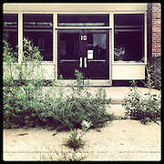 William H King Elementary, 740 S Campbell Ave in Tri-Taylor. Opened 1959, closed 2013. Students relocated to Jensen Elementary. Photographed Monday, Aug. 26, 2013 with an iPhone and the Instagram filter Brannan. (Brian Cassella/Chicago Tribune) B583150507Z.1 <br /> ....OUTSIDE TRIBUNE CO.- NO MAGS,  NO SALES, NO INTERNET, NO TV, CHICAGO OUT, NO DIGITAL MANIPULATION...