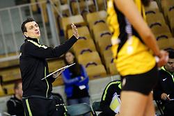 26-11-2015 SLO: Champions League Calcit Ljubljana - VakifBank Istanbul, Ljubljana<br /> Giovanni Guidetti, head coach of VakifBank Istanbul<br /> <br /> ***NETHERLANDS ONLY***
