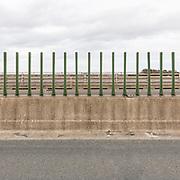 M6 near the Scottish border at Gretna Green, Cumbria.