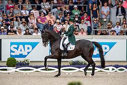 REYNOLDS Judy (IRL), Vancouver K <br /> Aachen - CHIO 2019<br /> Deutsche Bank Preis<br /> Großer Dressurpreis von Aachen<br /> Grand Prix Kür CDIO5* <br /> 21. Juli 2019<br /> © www.sportfotos-lafrentz.de/Stefan Lafrentz