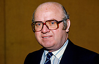Victor Hazlett, chairman, Bangor FC, N Ireland, 19850018VH..Copyright Image from Victor Patterson, 54 Dorchester Park, Belfast, UK, BT9 6RJ..Tel: +44 28 9066 1296.Mob: +44 7802 353836.Voicemail +44 20 8816 7153.Skype: victorpattersonbelfast.Email: victorpatterson@mac.com.Email: victorpatterson@ireland.com (back-up)..IMPORTANT: If you wish to use this image or any other of my images please go to www.victorpatterson.com and click on the Terms & Conditions. Then contact me by email or phone with the reference number(s) of the image(s) concerned.