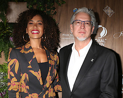 February 20, 2019 - Beverly Hills, CA, USA - LOS ANGELES - FEB 20:  Danni Washington, Michael Cain at the Global Green 2019 Pre-Oscar Gala at the Four Seasons Hotel on February 20, 2019 in Beverly Hills, CA (Credit Image: © Kay Blake/ZUMA Wire)