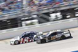 July 1, 2018 - Joliet, Illinois, United States of America - Brad Keselowski (2) battles for position during the Overton's 400 at Chicagoland Speedway in Joliet, Illinois  (Credit Image: © Justin R. Noe Asp Inc/ASP via ZUMA Wire)