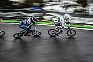 #77 (SAKAKIBARA Kai) AUS at Round 6 of the 2018 UCI BMX Superscross World Cup in Zolder, Belgium