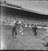 """Football. Jefferson vs Catholic. November 23, 1948"""