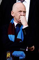 Photo: Paul Greenwood.<br />Sheffield United v West Ham United. The Barclays Premiership. 14/04/2007.<br />West Ham owner Eggert Magnusson in pensive mood before kick off