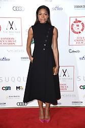 Naomie Harris arriving at the London Film Critics Circle Awards 2017, the May Fair Hotel, London.