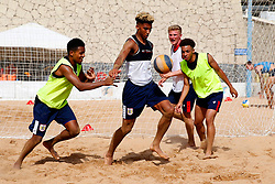 Lloyd Kelly of Bristol City in action during beach football - Mandatory by-line: Matt McNulty/JMP - 18/07/2017 - FOOTBALL - Tenerife Top Training Centre - Costa Adeje, Tenerife - Pre-Season Training
