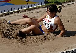 08-08-2006 ATLETIEK: EUROPEES KAMPIOENSSCHAP: GOTHENBORG <br /> ROSHCHUPKINA Natalya (RUS)<br /> ©2006-WWW.FOTOHOOGENDOORN.NL