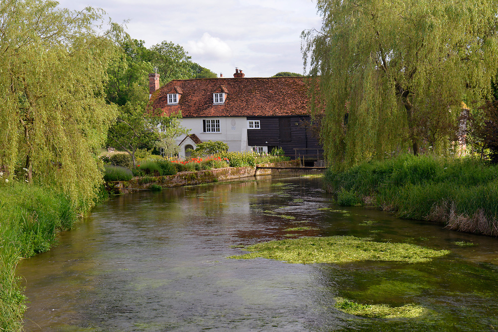 Bere Mill on the River Test near Whitchurch, Hampshire