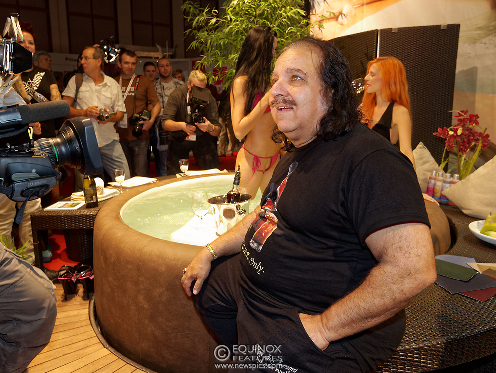 Berlin, Germany - 18 October 2012<br /> Porn star Ron Jeremy promoting his 'Ron Jeremy' brand of rum at the Venus Berlin 2012 adult industry exhibition in Berlin, Germany. Ron Jeremy, born Ronald Jeremy Hyatt, has been an American pornographic actor since 1979. He faces sexual assault allegations which he strenuously denies. There is no suggestion that any of the people in these pictures have made any such allegations.<br /> www.newspics.com/#!/contact<br /> (photo by: EQUINOXFEATURES.COM)<br /> Picture Data:<br /> Photographer: Equinox Features<br /> Copyright: ©2012 Equinox Licensing Ltd. +448700 780000<br /> Contact: Equinox Features<br /> Date Taken: 20121018<br /> Time Taken: 12321345