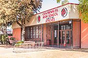 Centennial High School Office in Compton