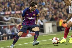 October 20, 2018 - Barcelona, Catalonia, Spain - Leo Messi in action during the spanish league La Liga match between FC Barcelona and Sevilla FC at Camp Nou Stadium in Barcelona, Catalonia, Spain on October 20, 2018  (Credit Image: © Miquel Llop/NurPhoto via ZUMA Press)