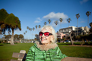 Former actress and model Bonnie Horne spends an afternoon in San Diego's La Jolla community, March 4, 2010.