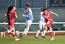 Corinne Yorston defender for Bristol City Women - Mandatory by-line: Paul Knight/JMP - Mobile: 07966 386802 - 14/02/2016 -  FOOTBALL - Stoke Gifford Stadium - Bristol, England -  Bristol Academy Women v QPR Ladies - FA Cup third round