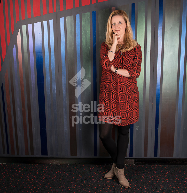English playwright Laura Wade pictured at Chichester Theatre, Chichester<br /> Picture by Daniel Hambury/Stella Pictures Ltd +44 7813 022858<br /> 12/10/2015