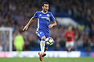 Pedro of Chelsea in action. Premier league match, Chelsea v Manchester Utd at Stamford Bridge in London on Sunday 23rd October 2016.<br /> pic by John Patrick Fletcher, Andrew Orchard sports photography.