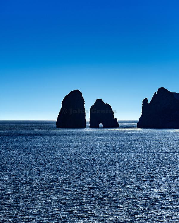 Faraglioni Rocks, Capri Island, Province of Naples, Campania, Italy