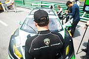 August 25-27, 2017: IMSA Weathertech GT Challenge. 16 Change Racing, Lamborghini Huracan GT3, Corey Lewis