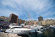 May 25-29, 2016: Monaco Grand Prix. Yachts