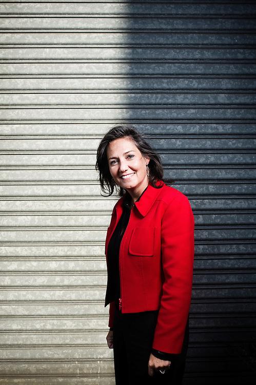 Rachel Picard, Directrice Generale de Voyages-Sncf.com, filiale de la SNCF sur internet. Levallois-Perret, France. 4 mars 2010. Photo : Antoine Doyen