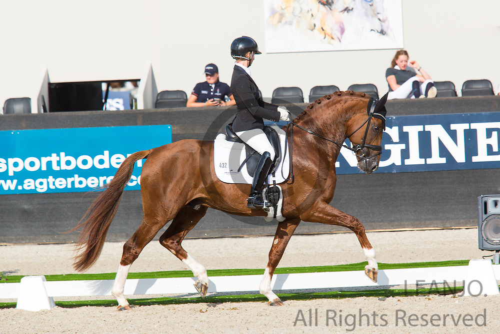 Eva Moller - So Unique<br /> FEI World Championships Young Dressage Horses 2019<br /> © DigiShots