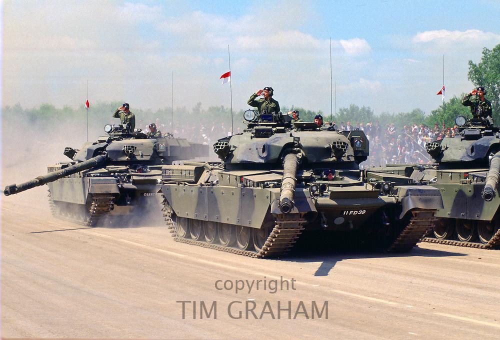 Military Display, Tidworth, Hampshire, United Kingdom.