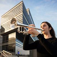 Northwestern student and musician Jennifer Hepp