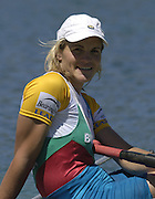 2005 FISA Rowing World Cup Munich,GERMANY. 19.06.2005; BUL W2X Miglena Markova Photo  Peter Spurrier. .email images@intersport-images.[Mandatory Credit Peter Spurrier/ Intersport Images] Rowing Course, Olympic Regatta Rowing Course, Munich, GERMANY