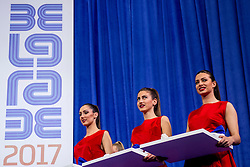 05-03-2017  SRB: European Athletics Championships indoor day 3, Belgrade<br /> Ceremony medaille uitreiking