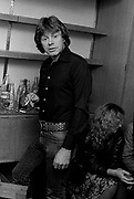 Rockpile backstage - Dave Edmonds 1980