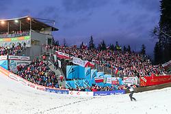 November 19, 2017 - Wisla, Poland - Fans during the FIS Ski Jumping World Cup on November 19, 2017 in Wisla, Poland. (Credit Image: © Foto Olimpik/NurPhoto via ZUMA Press)