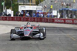 July 13, 2018 - Toronto, Ontario, Canada - WILL POWER (12) of Australia takes to the track to practice for the Honda Indy Toronto at Streets of Exhibition Place in Toronto, Ontario. (Credit Image: © Justin R. Noe Asp Inc/ASP via ZUMA Wire)