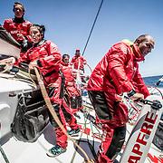 © María Muiña I MAPFRE: Día de entrenamiento a bordo del MAPFRE. Training day on board MAPFRE.